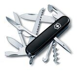 1.3713.3 Нож Victorinox Huntsman Black, 91 мм, 15 функций 1.3713.3